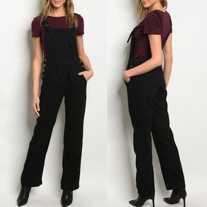 Black Corduroy Overall {Polagram}